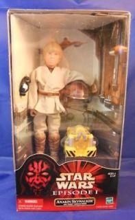 Hasbro Star Wars Anakin Skywalker w/ Theed Hanger Droid Figure MIB