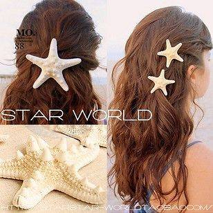 starfish hair clip in Jewelry & Watches