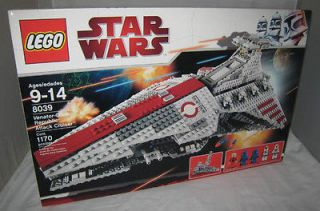 2010 LEGO STAR WARS #8039 VENATOR CLASS ATTACK CRUISER MISB NEW SEALED