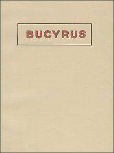 reprint 1924 BUCYRUS STEaM ShoVel & Dragline Catalog reprint