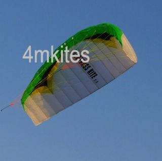Upgrad dual line power trainer kite/control bar/250Ib dyneema flying