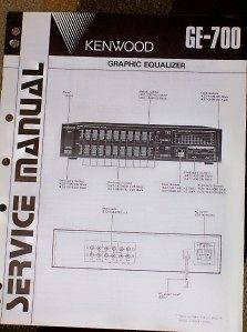 kenwood graphic equalizer in TV, Video & Home Audio