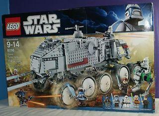 Lego STAR WARS 8098 Clone Turbo Tank Minifigures New in Box Retired