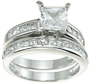 sterling silver wedding rings in Engagement & Wedding