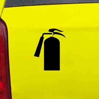 Fire Extinguisher Safety Decal Sticker   24 Colors   3.75 x 5