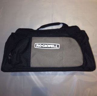ROCKWELL Heavy Duty Canvas Tool Bag 15 X 9 X 7