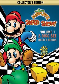 Super Mario Bros. Super Show , Vol. 1 DVD, 2012, 2 Disc Set, Collector