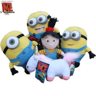 Me Souvenirs Minion Unicorn Agnes 5x Plush Stuffed Animal Teddy Hot