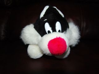 24K 1993 Warner Brothers Sylvester Jr. the Cat Plush Doll 11