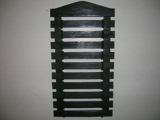 Karate belt display rack10 slatsblack