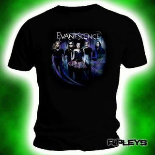 OFFICIAL T Shirt EVANESCENCE Amy Lee FIVE BAND L