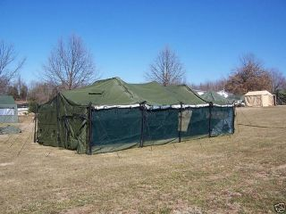 MILITARY TENT TRUCK TARP MGPTS MEDIUM 18x36 GP ARMY