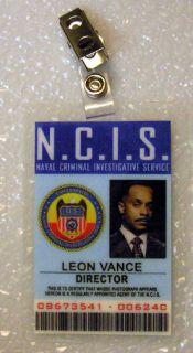 NCIS TV Series ID Badge Director Leon Vance