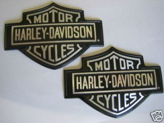 Harley Davidso​n OEM Gas Tank Emblems Left and Right