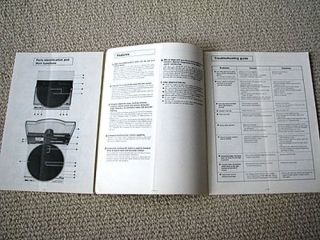 Technics SL 7 linear tracking turntable owners manual