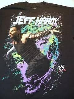JEFF HARDY Vapor WWE Wrestling T shirt NEW
