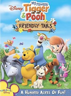 My Friends Tigger Pooh Friendly Tails DVD, 2008