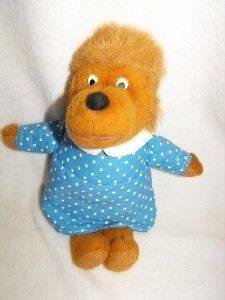 Berenstain Bears Stuffed Plush MAMA Fisher Price 1982