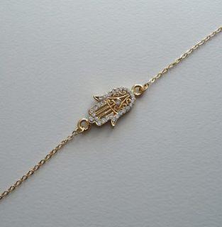 hand of fatima bracelet in Bracelets