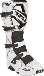 NEW FLY RACING KINETIC MX MOTOCROSS DIRT BIKE OFFROAD BOOTS WHITE WHT
