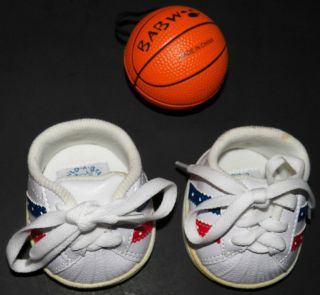 Basketball + Tennis Shoes Sport Build Bear Workshop BABW Plush Clothes
