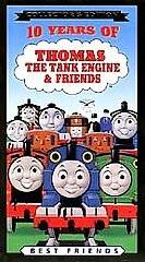 10 Years of Thomas the Tank Engine & Friends   Best Friends [VHS