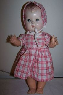 vintage tiny tears doll in American Character
