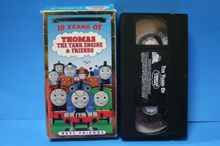 Thomas 10 years of The Tank Engine and Friends VHS Video Kids