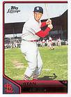 2011 Topps Lineage Stan Musial Cloth Sticker Insert Card