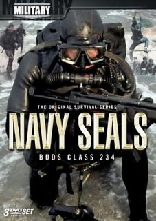 Navy SEALs   Buds Class 234 DVD, 2007, 3 Disc Set, Military Channel