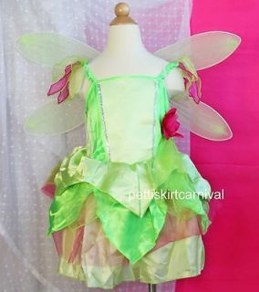 TINKERBELL HALLOWEEN XMAS PARTY BIRTHDAY PARTY DRESS WINGS COSTUME 5
