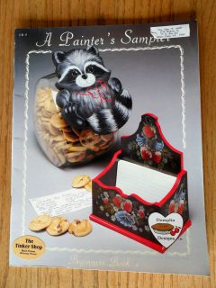 Sampler Beginners Book 4 Acrylic Tole Painting Patterns Instruction