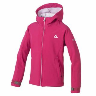 Boys Dare2b Racket Hooded Softshell Jacket JEM PINK Age 3   16 years