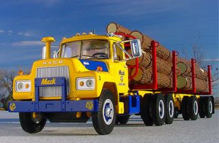and AWESOME   MACK TRUCKS LOGGING R MACK TRUCK & TRAILER   First Gear