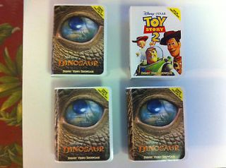 Disneys McDonalds Happy Meal Video Showcase Dinosaur Toy Story Lot