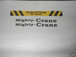 mighty tonka crane in Cars, Trucks & Vans
