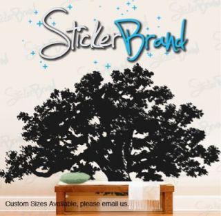 Vinyl Wall Decal Sticker Big Oak Tree 60x100