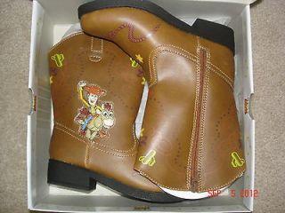 Toddler Boys DISNEY/PIXAR TOY STORY Light up Cowboy Boots size 8 (NEW