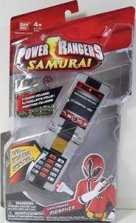 Power Rangers SAMURAIZER MORPHER NIP MEGA RED RANGER MIGHTY MORPHIN