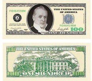 dollar bill in Novelty