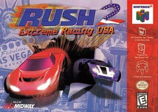 Rush 2 Extreme Racing USA Nintendo 64, 1998