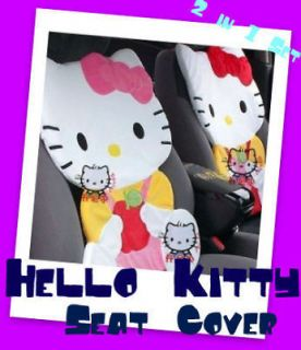 Hello Kitty Apple Design Seat Cover Cushion Set Multi Use Home/Car