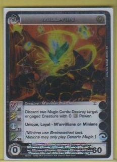 CHAOTIC  Trading Card Game Marrillian Invasion Single Card Rare #62