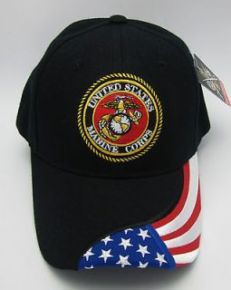 United States MARINE CORPS Cap US Marines Hat US Flag Military Caps