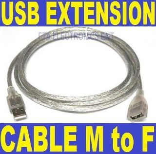USB Extension Cable Type A Male USB 2.0 to Female 6.5 Feet Extend