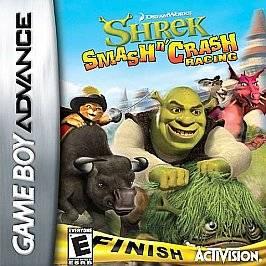 Shrek Smash n Crash Racing Nintendo Game Boy Advance, 2006