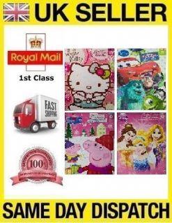 KIDS CHRISTMAS ADVENT CALENDAR Peppa Pig Disney Princess Hello Kitty
