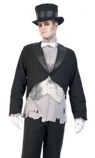 Victorian Ghost Gentleman Groom Adult Halloween Costume