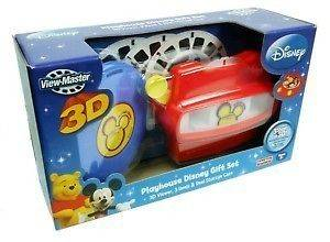 DISNEY MICKEY MOUSE CLUBHOUSE VIEW MASTER GIFT SET NIP LITTLE EINSTEIN