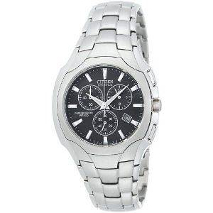 NEW Citizen Mens Eco Drive Chronograph Watch AT0880 50E